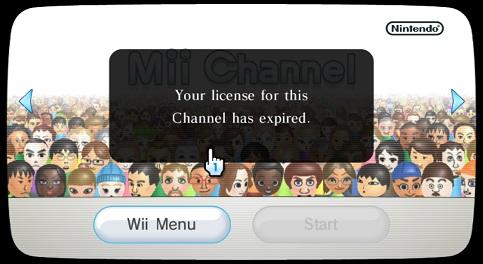 Wii System Menu