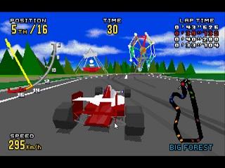 Virtua Racing Deluxe on Sega 32x