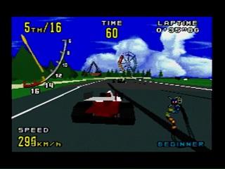 Virtua Racing on Genesis