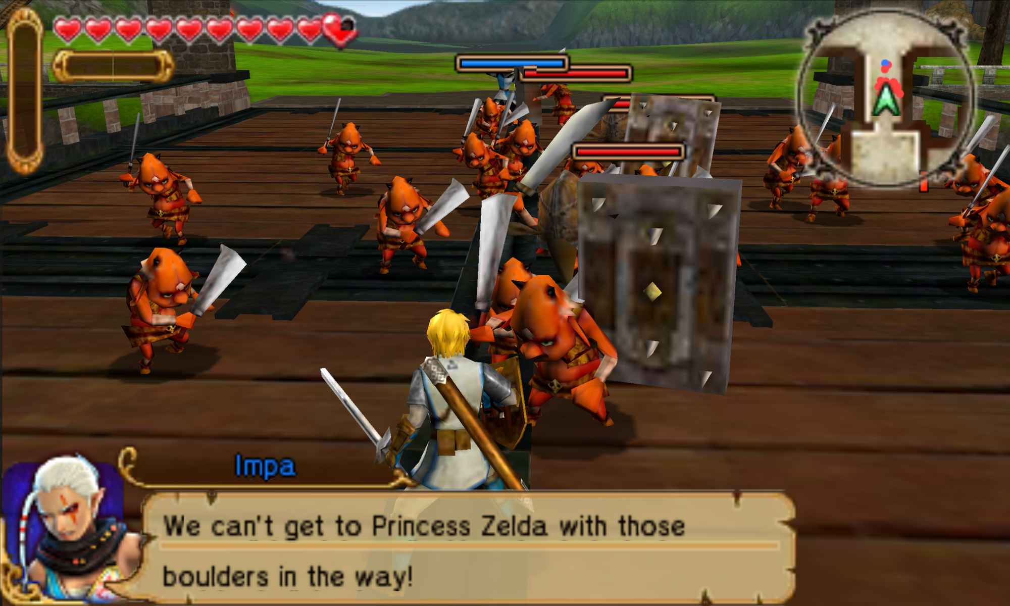 Emulation Cross! Hyrule Warriors