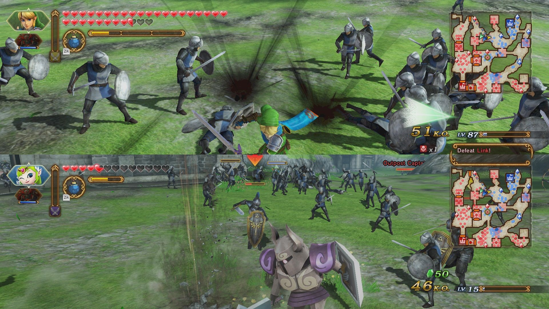 Emulation Cross Hyrule Warriors